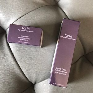 Tarte base tape and timeless smoothing primers